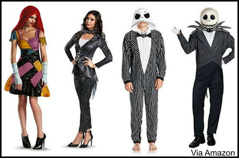 jack-skellington-sally-nightmare-before-christmas-cosplay-costumes  sc 1 st  My Ugly Christmas Sweater & Christmas Cosplay Costume Ideas for this Years Party