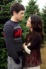 adam brody vintage reindeer christmas sweater from the O.C.