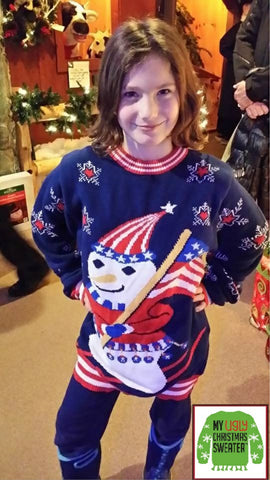 childrens christmas sweater