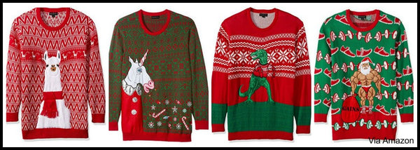 Plus Size Christmas Sweaters for 3XL 4XL and 5XL Men and Women