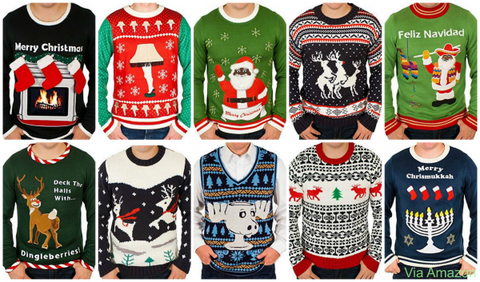 festified christmas sweater - Cheap Mens Ugly Christmas Sweater