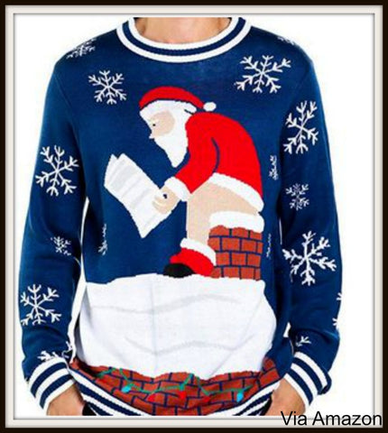 45830698d5f Naughty Christmas Sweaters for Men and Women. Ugly Christmas Sweater ...