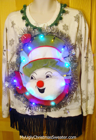 puffy-snowman-toilet-seat-christmas-sweater
