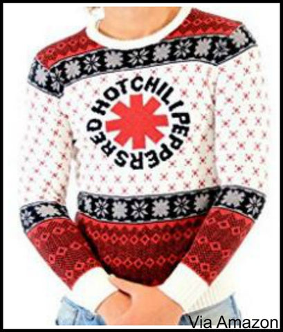 Rock and Roll Bands Christmas Sweaters – My Ugly Christmas