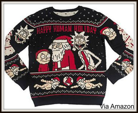 rick-and-morty-christmas-sweater