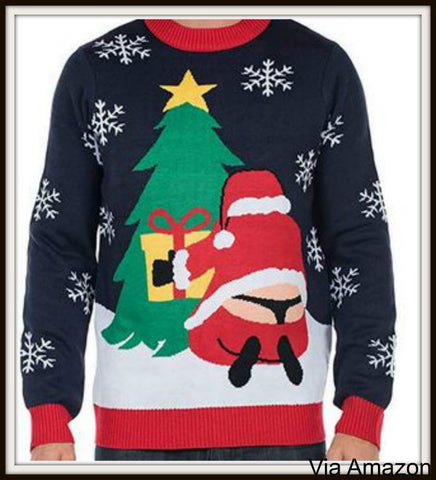 santa-whale-tail-butt-crack-thong-christmas-sweater