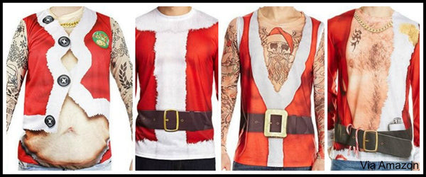 Funny Faux Real Christmas Shirts For Men Women Child Baby