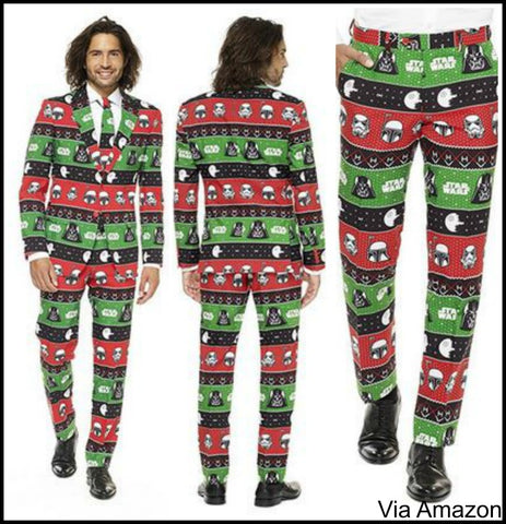 star wars christmas suit - Star Wars Christmas Pajamas