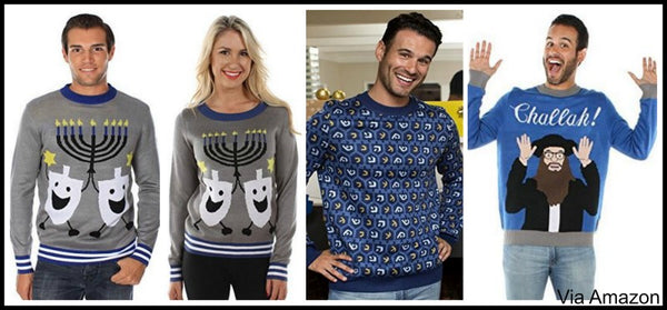 Jewish Christmas Sweater.Hanukkah Sweaters And Vests For Men And Women