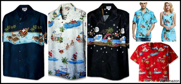 hawaiian christmas shirts