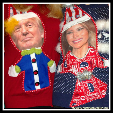 trump-melania-christmas-sweaters