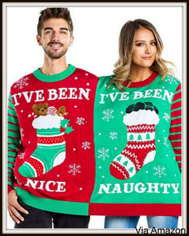 Two Person Christmas Sweater is Double the Fun – My Ugly