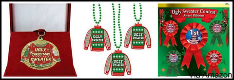 christmas sweater party awards