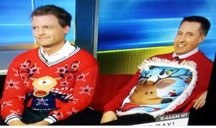 cnn hln morning express christmas sweaters