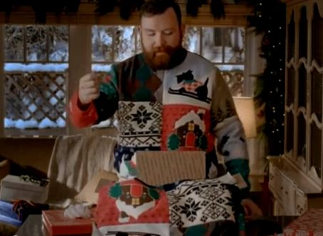 usps ugly christmas sweater commercial