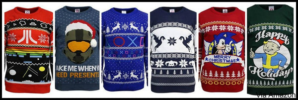 video-game-christmas-sweaters