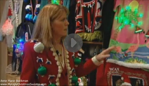 anne marie blackman ugly christmas sweaters