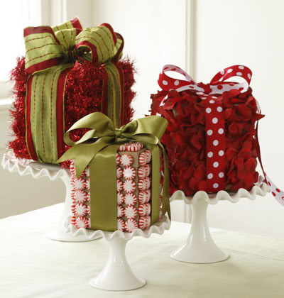 Beautiful DIY tissue box christmas decorations.  Visit www.MyUglyChristmasSweater.com for info and party sweaters.