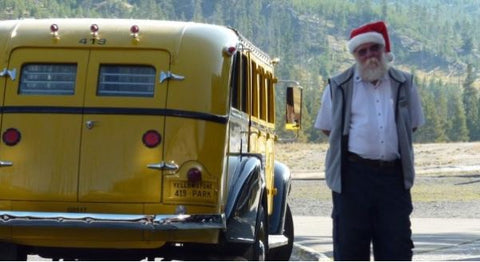 christmas in august in yellowstone