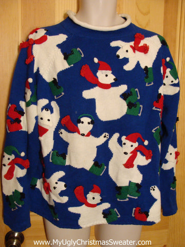 Classic Bears 80s Christmas Sweater