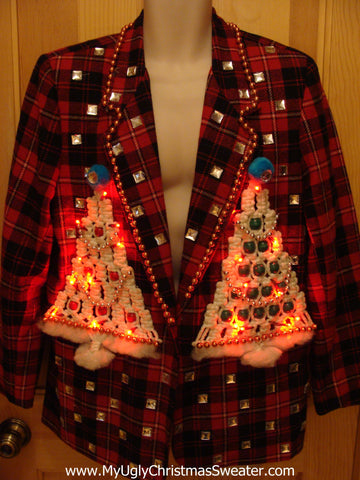 Christmas Party Jacket with Lights