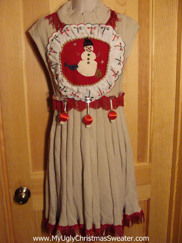 Adorable Christmas Sweater Dress