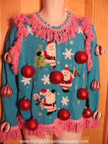 Two Sided Best 3D Christmas Sweater