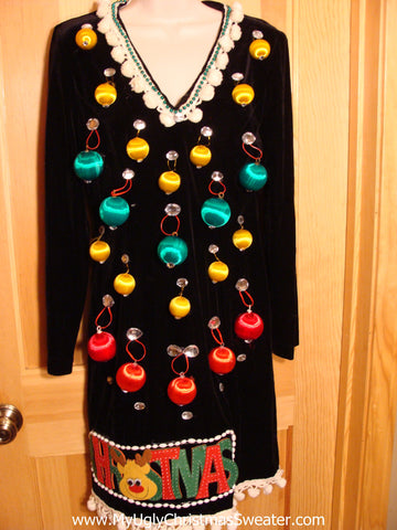Best Christmas Dress with Ornaments