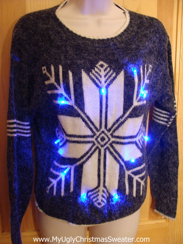 Vintage Light Up Christmas Sweater