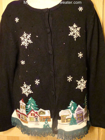 Ugly Christmas Sweater Tasky Town Winter