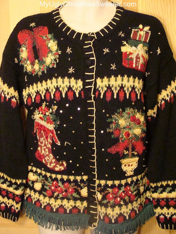 Ugly Christmas Sweater Hideously Tacky