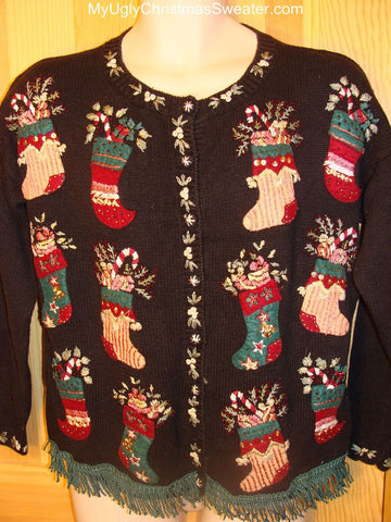 Ugly Christmas Sweater Stocking Party