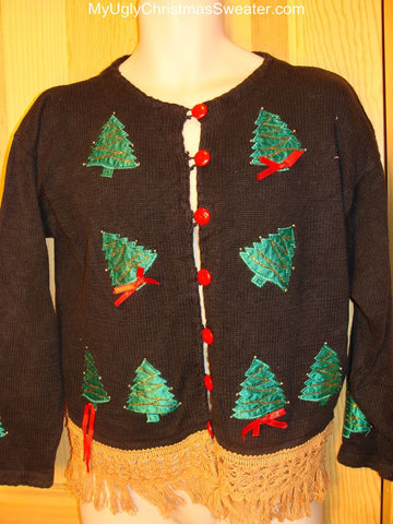 Ugly Christmas Sweater Topsy Turvey Trees