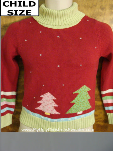 Child Size Novelty Funny Christmas Sweater