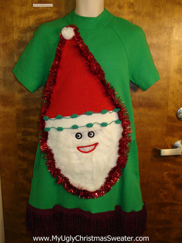 Ugly Christmas Sweater Party Dress Size 8