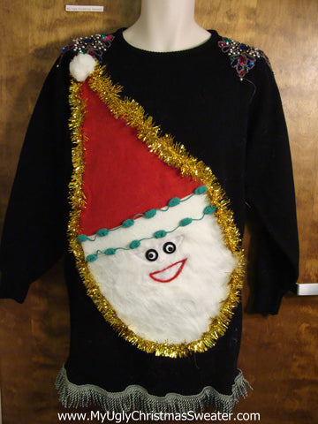 Ugly Christmas Sweater Party Dress Size M