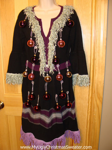 Ugly Christmas Sweater Party Tacky Dress (d20)
