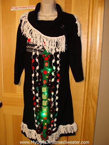 Ugly Christmas Sweater Party Tacky Dress (d57)