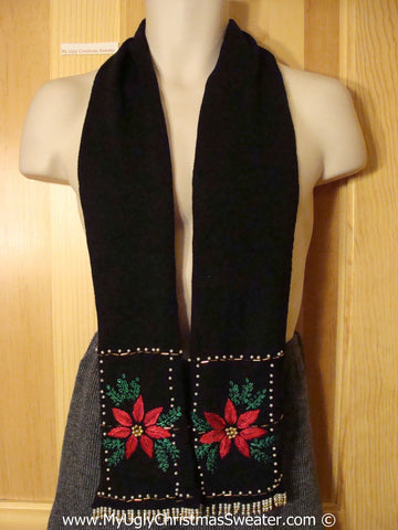 Tacky Cheesy Holiday Sweater Scarf (f1107)