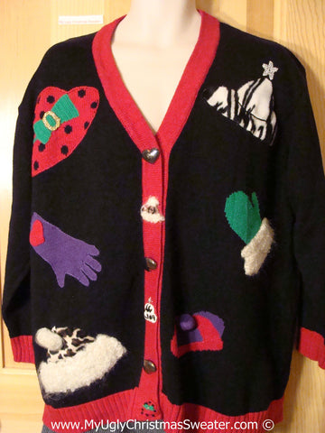 Tacky Christmas Sweater Horrid Wms / Mens XXL (f1259)