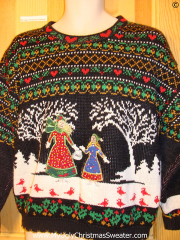Holy Grail Awful 2sided Festive Christmas Sweater
