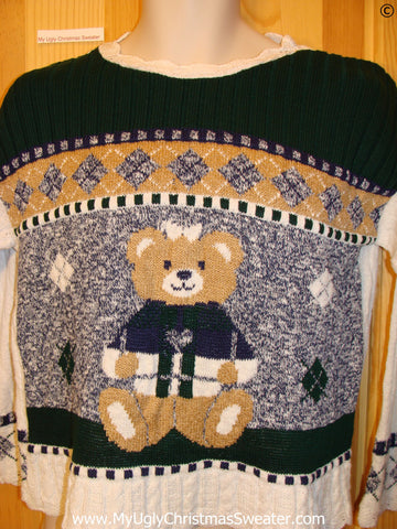 Bear Pullover Cheap Christmas Sweater