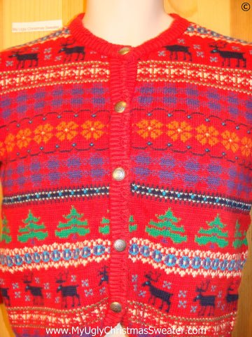 Cheap Child Christmas Sweater Reindeer