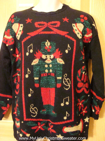 80s Nutcracker Awesome Christmas Sweater