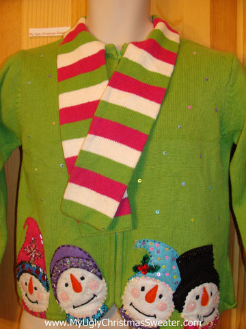 Child or XS Green Christmas Sweater