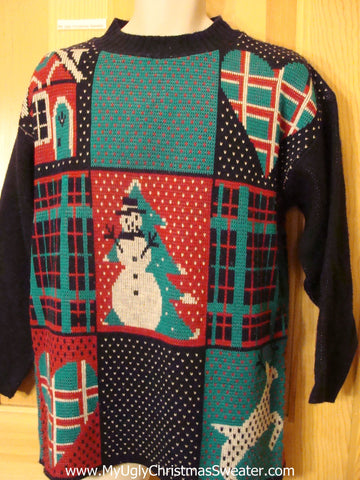 Ugly Christmas Sweater 80s Holy Grail of Horrible