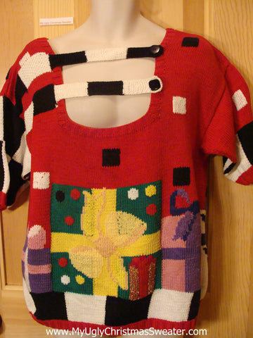 The Strangest Ugly Christmas Sweater Ever! Holy Grail 80s
