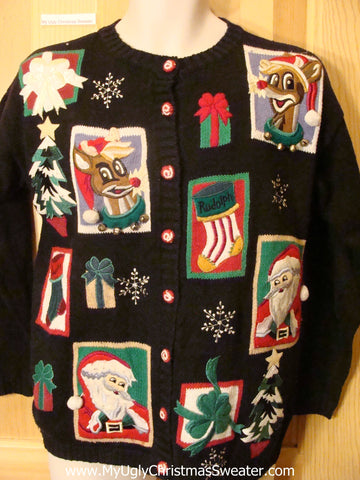 Ugly Christmas Sweater Rudolph the Reindeer