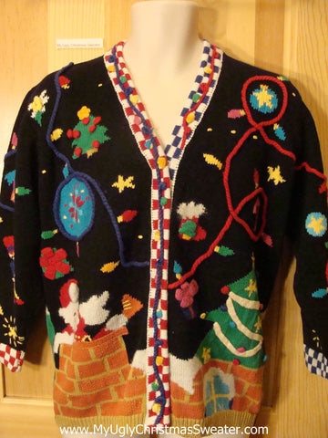 Holy Grail Crazy Ugly 2sided 3D Christmas Sweater