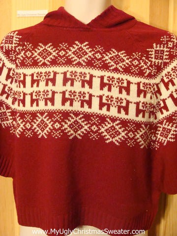 Ugly Christmas Sweater 2sided Nordic Hoodie